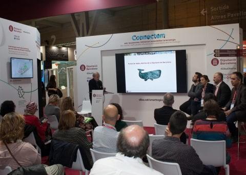 presentació del portal de dades obertes a l'Smart City Expo