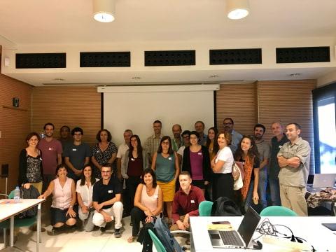 Foto final amb tots els participants a la jornada.